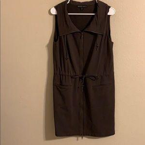 Lafayette 148 brown dress size medium